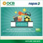 Cuối tuần vui vẻ với thẻ nội địa Napas cùng OCB