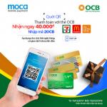 Moca hôm nay - Nhận ngay deal hot với thẻ ngân hàng OCB