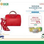 Khuyến mãi từ Vascara khi thanh toán bằng thẻ OCB tại lễ hội mùa đông Winter Wonderland
