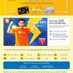 Shoppe super sales rẻ vô địch 3 ngày cuồng phong với PVcomBank
