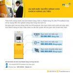 Ưu đãi đặc quyền dịch vụ thẻ ATM dành cho Khách hàng ưu tiên của PVcomBank