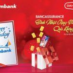 Bancassurance sinh nhật tặng vàng - Quà không giới hạn dành cho khách hàng Sacombank