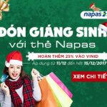 Đón Giáng Sinh với thẻ Napas của SaiGonBank