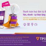 Thanh toán hóa đơn tự động qua TPBank eBank – Tiện, nhanh lại được tặng tiền