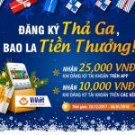 Ví Việt đăng ký thả ga, bao la tiền thưởng
