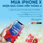 Tận hưởng ưu đãi thẻ Tín dụng quốc tế VietinBank khi mua iPhone X