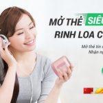 Mở thẻ tín dụng 100% online - Nhận loa nghe nhạc cực chất cùng VPBank