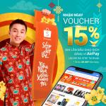 Giao dịch bằng Airpay nhận ngay voucher giảm giá Shopee 15%