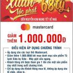 Ưu đãi khi thanh toán bằng thẻ Eximbank MasterCard tại siêu thị Nguyễn Kim