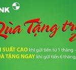 Quà tặng hấp dẫn khi gửi tiền VNĐ 6 tháng và 12 tháng với Eximbank
