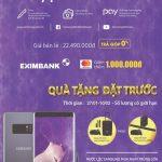 Đặt hàng Note 8 Tím – Ưu đãi cùng thẻ Eximbank MasterCard, Giảm ngay 1 triệu đồng