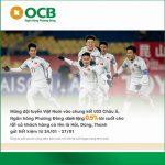 Ngân hàng Phương Đông ưu đãi lớn dành cho khách hàng mừng chiến thắng U23 Việt Nam