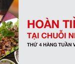 Thưởng thức hương vị tết tại chuỗi nhà hàng Redsun vào thứ 4 hàng tuần với thẻ Techcombank Visa