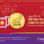 Ngày Thần tài - Mua vàng tiện lợi - Không phải chờ đợi tại TPBank