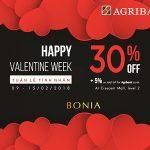 Happy Valentine Week dành cho chủ thẻ Agribank