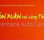 Đón Xuân vui cùng thẻ tín dụng Eximbank Visa Auto Card
