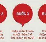 NCB Smart ra mắt tính năng Lì xì trực tuyến – May mắn đầu xuân