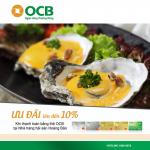 OCB ưu đãi lên đến 10% tại nhà hàng Hoàng Bảo