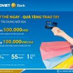 Miễn phí dịch vụ cho chủ thẻ tín dụng nội địa BaoViet Bank