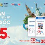 Tour du lịch giá sốc khi thanh toán bằng chức năng QR Pay trên ứng dụng Agribank E-Mobile Banking tại chợ du lịch quốc tế Hà Nội VITM 2018