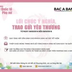Bac A Bank trao gửi yêu thương tới Khách hàng nữ nhân ngày 8/3