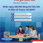 Nạp 1 được 3, thả ga tiêu xài với ví điện tử Payoo cùng BIDV