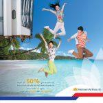 Chào hè 2018 – Giảm tới 50% giá vé và VNA Holidays cùng BIDV e-Banking