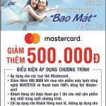 Ưu đãi dành cho chủ thẻ Eximbank MasterCard tại siêu thị Nguyễn Kim