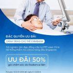 Ưu đãi dành cho chủ thẻ Eximbank tại PPP Laser Clinic