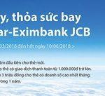 Phát hành ngay, thỏa sức bay cùng thẻ Jetstar-Eximbank JCB