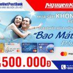 Khuyến mãi cho thẻ LienVietPostBank MasterCard tại Nguyễn Kim
