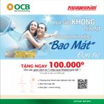 Quét QR code cùng OCB Mastercard