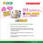 Thứ 6 vui vẻ - Mua sắm ưu đãi cùng OCB Mastercard