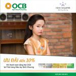Giảm giá cho chủ thẻ OCB khi mua sắm sản phẩm thời trang thuộc hệ thống Ninh Khương