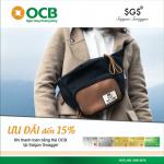 Giảm 10% dành cho chủ thẻ OCB khi thanh toán tại hệ thống Saigon Swagger