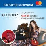 Reebonz giảm 6% thời trang cao cấp cho chủ thẻ Sacombank Mastercard