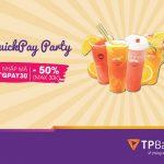 Cài đặt TPBank Quickpay, nhận ngay ưu đãi 50% tại Royal Tea