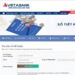 Tin vui cho khách hàng gửi tiết kiệm ngân hàng VietABank