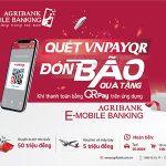 Thanh toán bằng QR Pay trên ứng dụng Agribank E-Mobile Banking đón bão quà tặng
