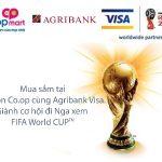 Mua sắm cùng thẻ Agribank Visa cơ hội nhận vé xem FIFA World Cup và quà tặng hấp dẫn