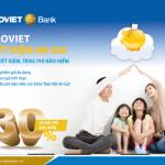 Tiết kiệm an gia - Gửi tiết kiệm tặng phí bảo hiểm cùng BaoViet Bank