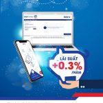 Gửi thật tiện – Lãi thật cao với tiền gửi online của BIDV