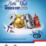 Chương trình tiết kiệm dự thưởng Mừng sinh nhật, đón World Cup cùng BIDV