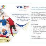 Thanh toán với thẻ Eximbank Visa tại FPT Shop. Cơ hội đi Nga xem FIFA World Cup
