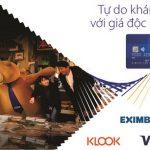 Ưu đãi miễn phí sử dụng 3G/4G và giảm 10% khi đặt dịch vụ qua KLook với thẻ Eximbank Visa