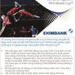 Mua sắm cùng VinID và thẻ Eximbank Visa - Cơ hội đi Nga xem FIFA World Cup