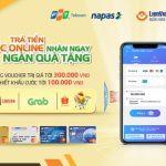Trả tiền cước online – Nhận ngay ngàn quà tặng cùng LienVietPostBank