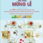 Ăn mừng đại lễ - Nhận quà hấp dẫn từ OCB và KhanhCasa Tea House