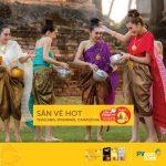 Du lịch Thái Lan với vé Vietjet Air 0 đồng cùng PVcomBank