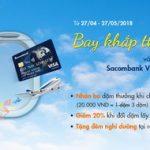 Bay khắp thế giới với thẻ tín dụng Sacombank Visa Signature